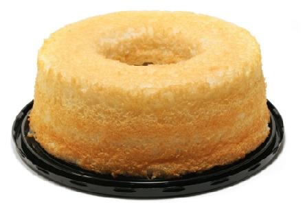 Tрадиционната кръгла форма за кейка Храната  на ангела